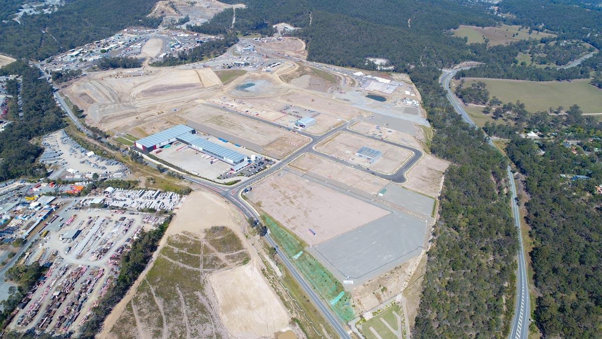 Empire Industrial Estate September 2017