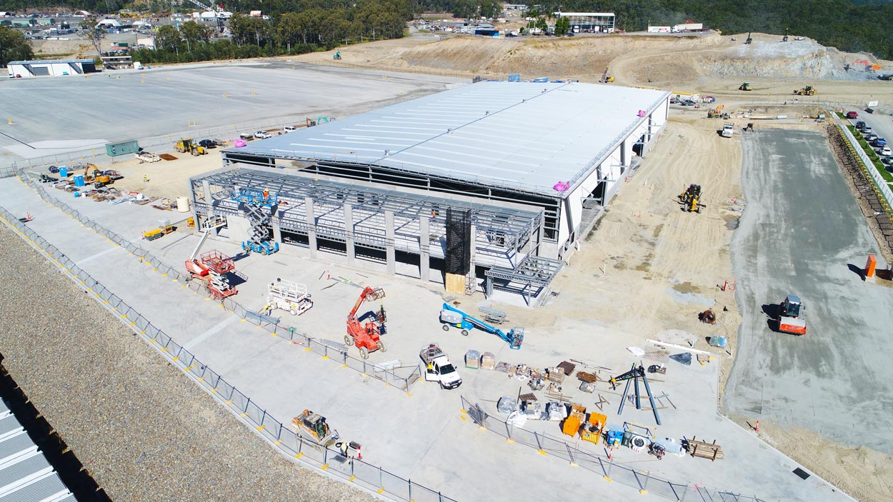 ACTO Australia Construction Early June 2018