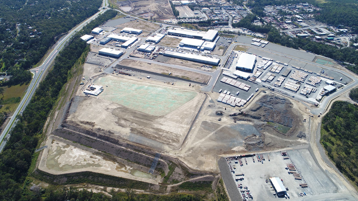 Empire Industrial Estate Stage 5 Mid July 2019