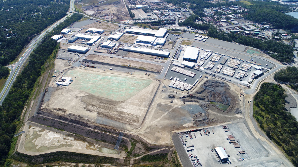 Empire Industrial Estate Stage 6 Mid July 2019