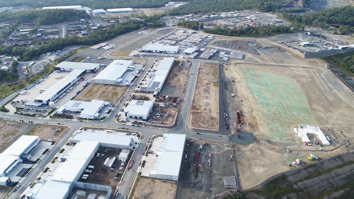 Empire Industrial Estate July 2019