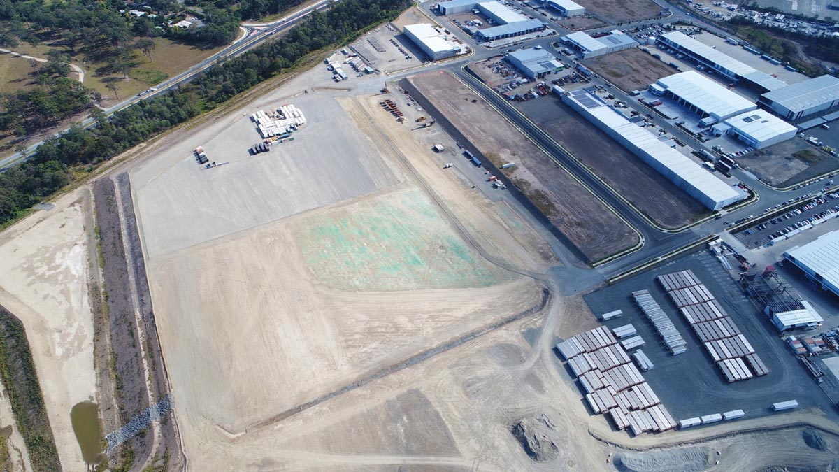Empire Industrial Estate Stage 7 August 2019